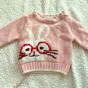 Super soft and warm Pumpkin Patch baby sweater